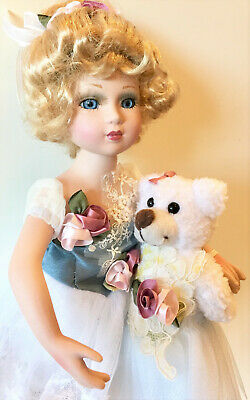 $ CDN65.32 • Buy Victorian Porcelain Dolls-Limited Edition Collectible Doll Princess New