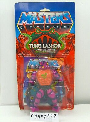 $235 • Buy MOTU, Tung Lashor, Masters Of The Universe, MOC, Carded, Figure, He Man, Sealed
