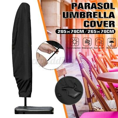 AU19.21 • Buy Parasol Banana Umbrella Cover Cantilever Outdoor Garden Patio Shield Waterproof