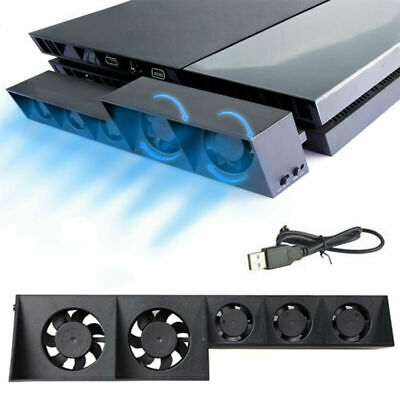 AU17.16 • Buy PS4 Game Accessories Cooling Fan Host Cooler External Station Turbo Cooling