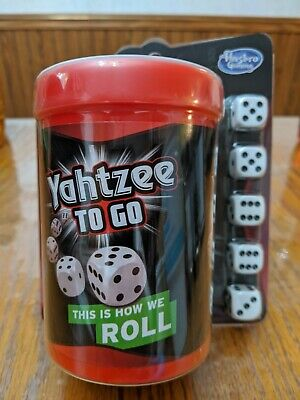 AU18.43 • Buy Yahtzee To Go Travel Game By Hasbro Gaming 2+ Players Fun At Home