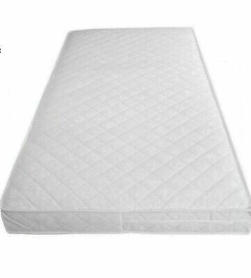 £55.99 • Buy Baby Cot Soft Mattress 160x70x10 Toddler Cot Bed Quilted & Waterproof Breathable