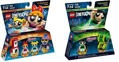 AU90 • Buy LEGO Dimensions The Powerpuff Girls 71343 And 71346 Combo - New (Free Shipping)