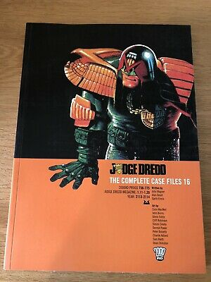 Judge Dredd The Complete Case Files 16 • 15£