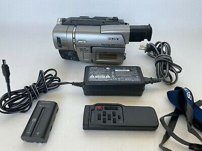 $ CDN201.31 • Buy Sony CCD TRV57 8mm Video8 XR Camcorder Player Camera Video Handycam Remote