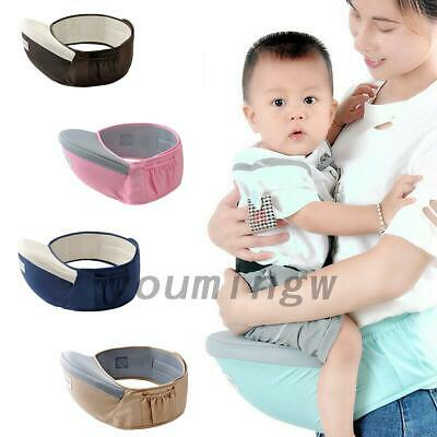 Baby Hip Seat Waist Bench Stool Travel Baby Boys Girl Carrier Sling Holder • 5.39£
