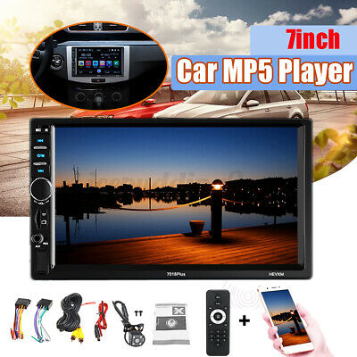 AU60.69 • Buy 7  Double 2 Din Car Stereo Radio MP5 Bluetooth USB Bluetooth + Microphone AUX