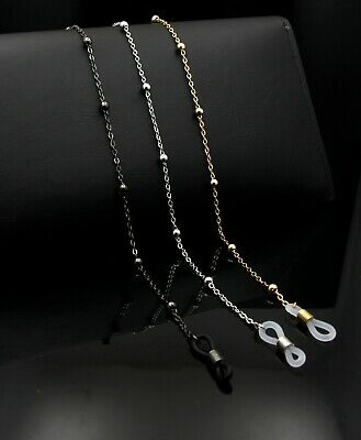 Glasses Neck Chain Cord Lanyard Gold Silver Gun Retainer Spectacles Sunglasses  • 3.99£