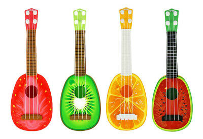 Children Toy Guitar Bright Fruit Coloured Children Musical Instruments • 7.99£