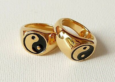 Gold Yin Ying Yang Ring 90s N & P Medium Other Bloggers Stories  • 9.99£