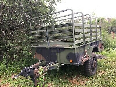 $2000 • Buy US ARMY CARGO TRAILER  M-105A2, 7' X 10' Excellent Condition!