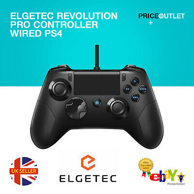 Elgetec Revolution Pro Controller Wired PS4 Playstation 4 D17 • 13.99£