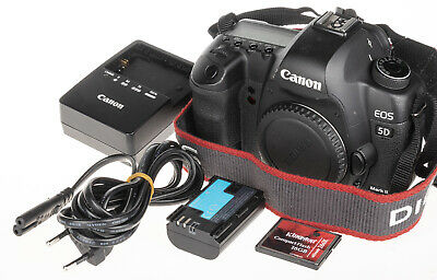 $ CDN785.36 • Buy Canon EOS 5D Mark II 2 DSLR +16GB CF | 77.8k Clicks | Good Condition