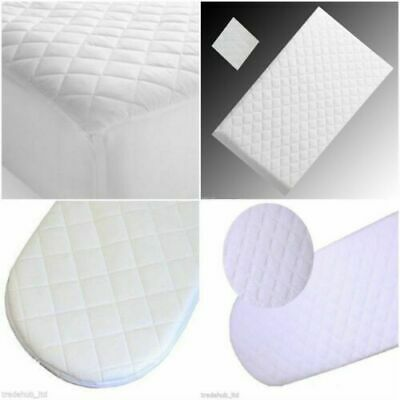 £42.22 • Buy Warm Soft Cot Bed Mattress Baby Quilted & Waterproof 160x80/160x70 Sizes