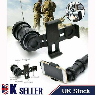 41-44MM Rifle Scope Mount Adapter Camera Smartphone Holder For Phones Universal • 23.61£