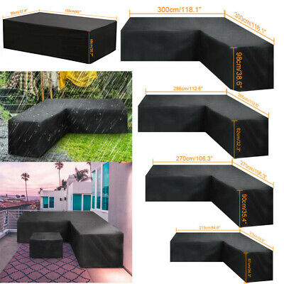 £22.55 • Buy Waterproof Garden Patio Furniture Set Cover Covers For Outdoor Rattan Sofa Cube