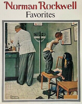 $ CDN48.66 • Buy 1977 NORMAN ROCKWELL Favorites Book 50 Large Posters Suitable For Framing