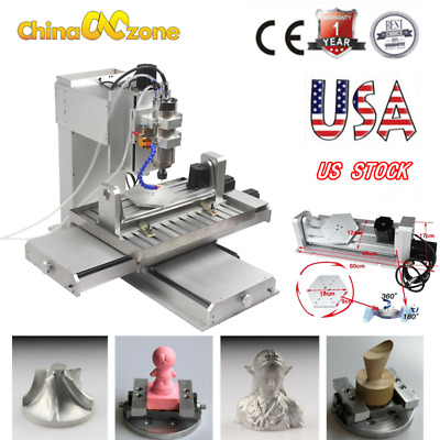 $ CDN4419.01 • Buy 5Axis 6040 CNC Router 3D Engraver 2200WUSB Engraving Drilling Milling Machine US
