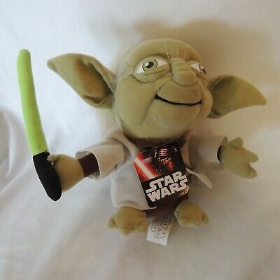 AU28.12 • Buy Star Wars Yoda Plush Stuffed Collectible Toy With Light Saber 8""