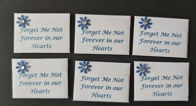 Forget Me Not Seeds For Funerals In Miniature Envelopes - 20 Packs-3.75 Cm X 2.5 • 6£