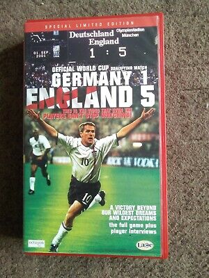 £4.99 • Buy Germany 1 England 5, Video Vhs 2001,special Limited Edition Freepost
