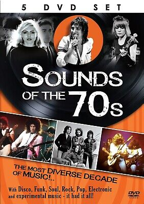 Sounds Of The 70s 5 DVD Set [New+Sealed] • 8.99£