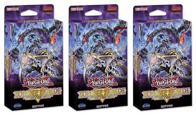 AU140.59 • Buy 3x English Yugioh Cards Structure Deck: Zombie Horde 1st Edition SEALED!!