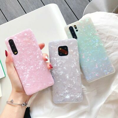 Case For Huawei P20 P30 Pro Mate 20 Lite ShockProof Marble Phone Silicone Cover • 4.45£