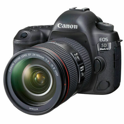 $ CDN3799.99 • Buy Canon EOS 5D Mark IV Full Frame Digital SLR Camera With EF 24-105mm II USM Lens