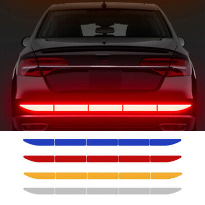 $ CDN10.97 • Buy 1x Car Reflective Warn Strip Tape Bumper Safety Stickers Decal Car Accessories