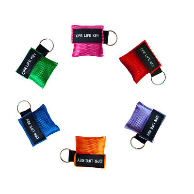 £22 • Buy 30pcs First Aid CPR Life Key CPR  Key-ring Mouth To Mouth CPR Face Shield
