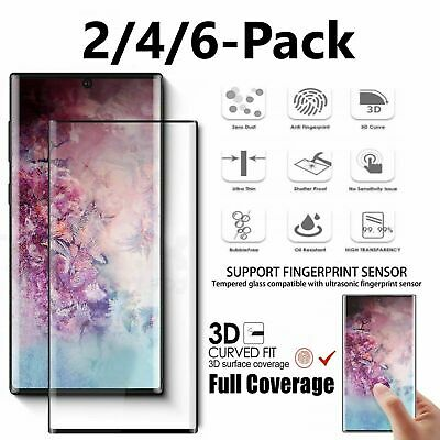 $ CDN10.32 • Buy Samsung Galaxy S10 Plus/Note 10+/S10e Full Cover Tempered Glass Screen Protector
