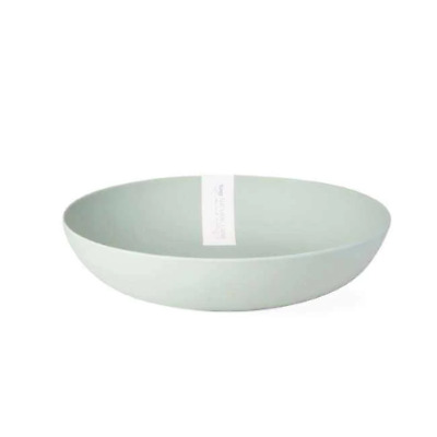 $33.99 • Buy Botanical Bamboo Fiber Serving Bowl, Aqua