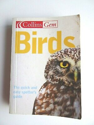 Birds Collins Gem By Jim Flegg Paperback 2004 Quick Easy Spotters Guide Book • 3.50£