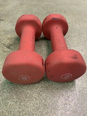 $ CDN30.74 • Buy 5lb Pound Dumbbell Set Of 2 Weights Free Shipping