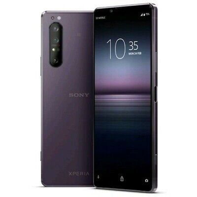 AU1045 • Buy Sony Xperia 1 II 5G Dual SIM XQ-AT52 Purple 8GB/256GB AU Seller Free Express New