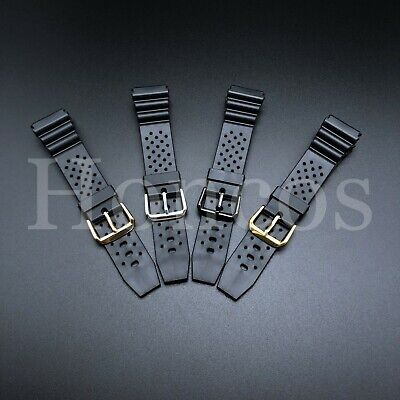 $ CDN14.60 • Buy 18 20 22 MM Black Silicone Rubber Watch Band Strap Fits Seiko Diver Hot USA Soft