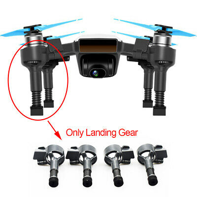 AU11.09 • Buy For DJI Spark Drone Accessories Extended Landing Gear Extension Parts