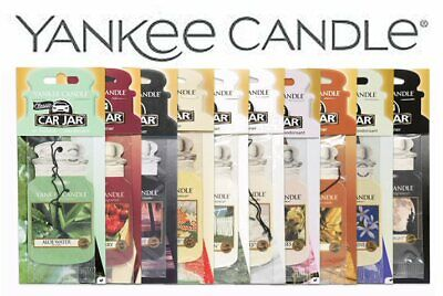 Yankee Candle Classic Car Jar Various Scents & Wickford Vent Sticks • 2.49£