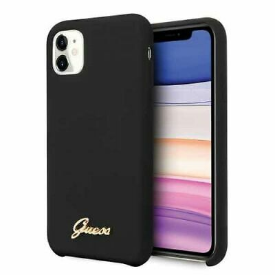 Genuine Guess Silicone 4G Tone Impact Case Cover For IPhone 11 • 17.21£