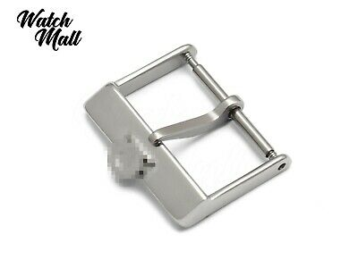 Fits OMEGA Buckle Clasp For Watch Leather Rubber Vintage Strap Band Silver  • 10.49£