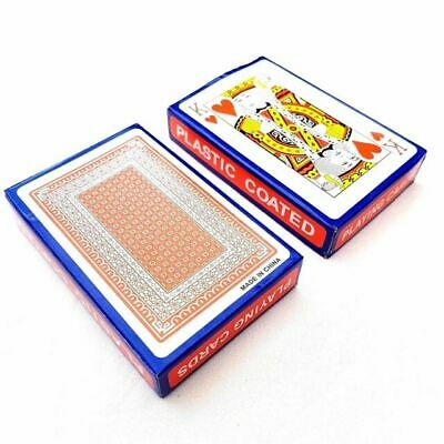 Pack Of 2 PLAYING CARDS-Poker Gambling Gaming Snap Deck Kings Queens FAST & FREE • 2.45£