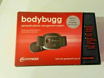 $15.99 • Buy Bodybugg Personal Calorie Management System 24 Hour Fitness Calorie Tracker