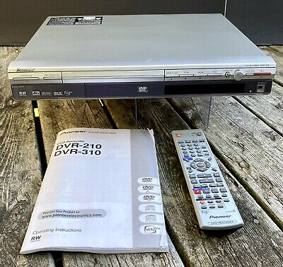 £31.88 • Buy Pioneer DVR-310S DVD Recorder/Player Remote/Manual ~Tested / For Parts Or Repair