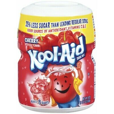 Kool Aid Tub Soft Drink Mix 538g, Cherry Flavoured Drink - American Import • 14.90£