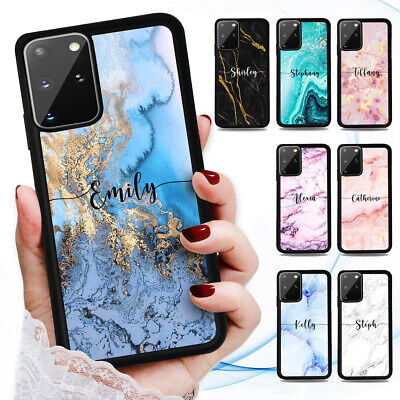 AU9.99 • Buy Personalised Name Marble Case Cover For Oppo X3 A54 A74 A91 A52 A53 A9 A5 2020