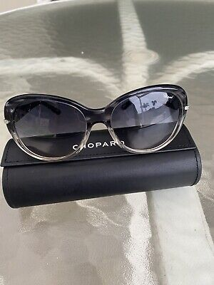 £116.62 • Buy Chopard Sunglasses Women Gray SCH 130S With Swarovski Accents And Case