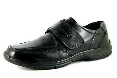 $ CDN58.44 • Buy Bama Of Germany Comfort Plus Mens UK 7 & 9 Black Leather Touch Close Shoes
