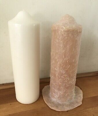 Latex Mould For Making Lovely Church Candle • 19.75£
