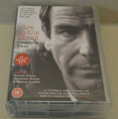 Wire In The Blood - Completely Wired (DVD, 2009, 14-Disc Set, Box Set) • 14.99£